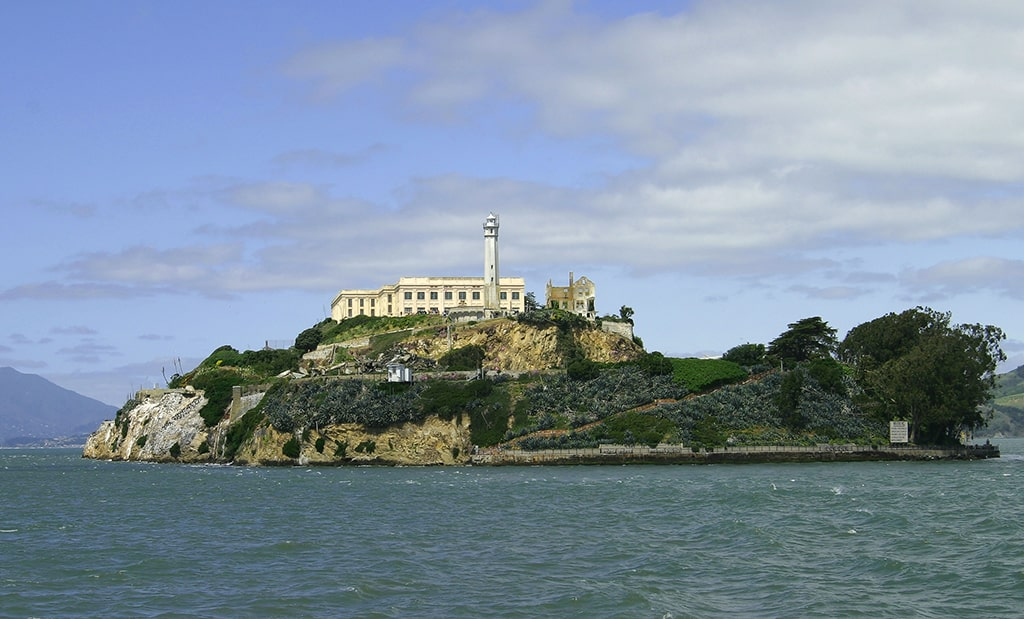 Alcatraz Island near San Francisco