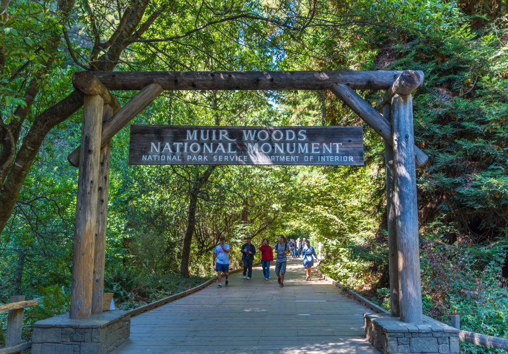Muir Woods National Monument Entrance