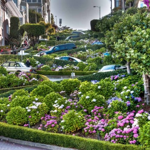 Crooked Lombard Street San Francisco