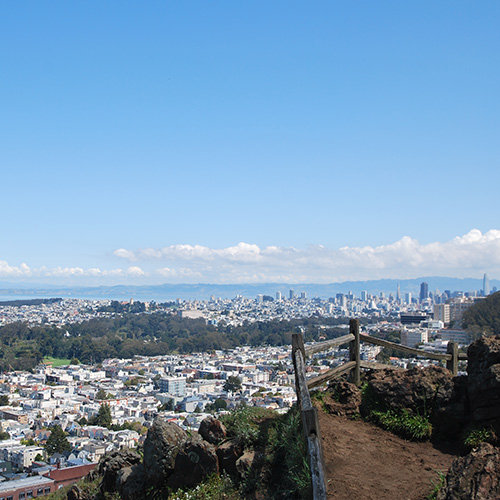 Visit Grandview Park in San Francisco for city views