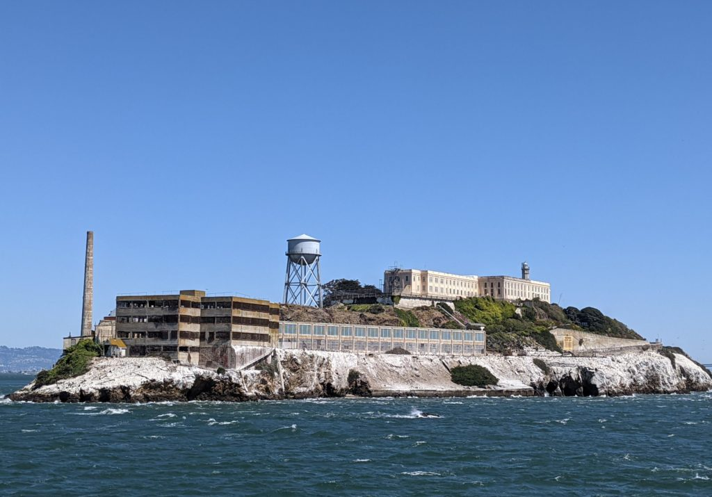 Alcatraz from Boat 2